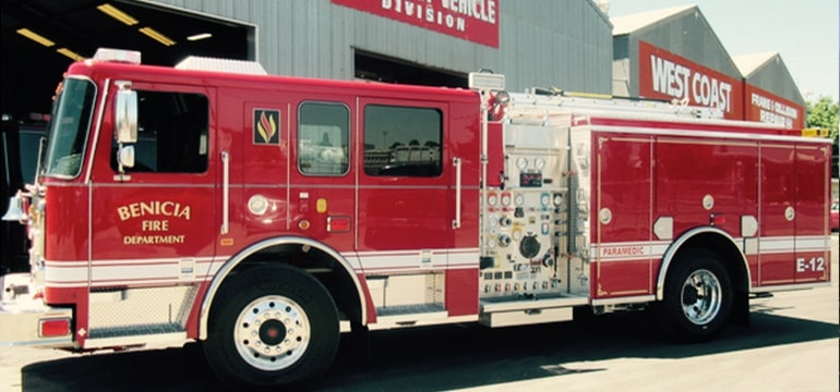 Benicia Fire Department - Seagrave Fire Apparatus