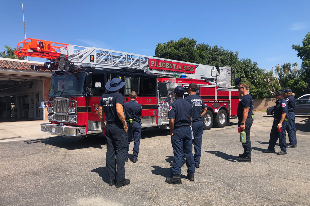 Placentia Fire and Life Safety Seagrave Fire Apparatus - Delivered August 2020