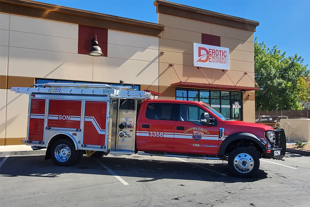 Sonoma Valley Fire District HME, Incorporated - Delivered October 2020